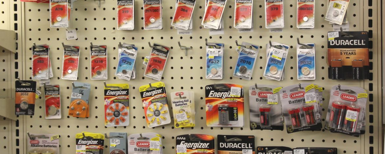 batteries & battery service